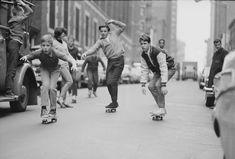 NYC Skateboarding In The 1960s. Bill Eppridge/Time Life Pictures / Getty Images