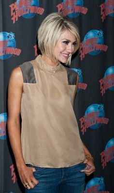 chelsea kane, bob cut. seriously love her hair.