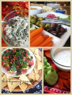 Thanksgiving Appetizers | Life as MOM - here's a round up of healthier thanksgiving apps to make yourself. No boxed mixes.