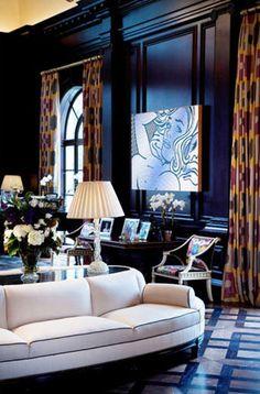 Chic and elegant Living Room - Kristen Kelli Interiors
