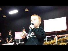Nathan sings at the PV Pink Out