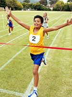 Interesting article about kids running with parents! Sounds like good news!