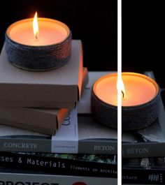 myLifebox: DIY | Winter Candles