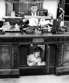 JFK and John John