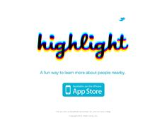 Website 'http://highlig.ht' snapped on Snapito!