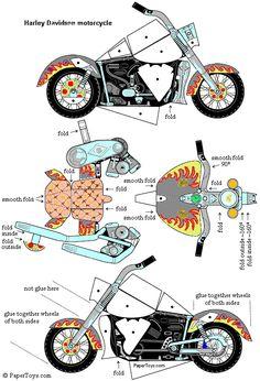 Harley Davidsen Motorcycle