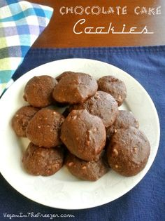 Chocolaty Chocolate Cake Cookies are chewy like a cookie but still very cake like on the inside.