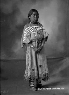 Blackfoot Girl, 1900