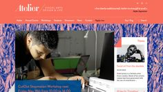 Atelier - Web design inspiration from siteInspire