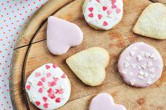 Ginger Heart Biscuits  #sugarfree #glutenfree