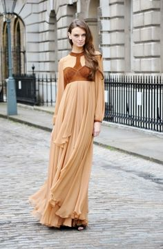 skirt, long dresses, maxi dresses, camel, fashion, style, soft colors, maxis, the dress