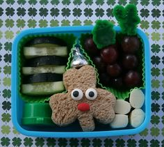 St Patricks day bento
