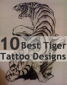 Best Tiger Tattoo Designs