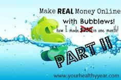 Making money online with Bubblews: Part II