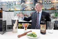 Newcastle's Architect Cocktail in the making. Want to try it at a bar or make it at home? Find out how: http://www.pinterest.com/visitengland/great-english-cocktail-recipes/ #morecity