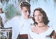 """Dorothy co-starred in Hollywood's first interracial love theme drama, """"Island In The Sun""""."""