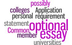 optional college essays