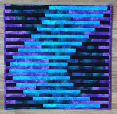 Melissa's interleave quilt. tutorials