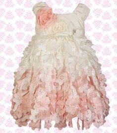 C'est Chouette Couture Sorbet Flower Dress