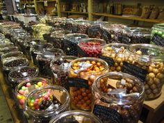 Photo of the candy section at Vermont Country Store, Weston, VT