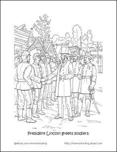 uniform coloring pages - civil war uniform coloring pages