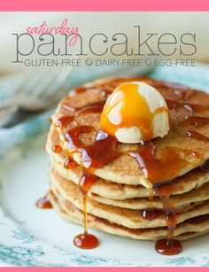 Gluten-Free Dairy-Free Egg-FreePancakes - Lexie's Kitchen | Gluten-Free Dairy-Free Egg-Free -