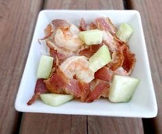 Bacon-wrapped sushi that's been deconstructed and made into a delicious new recipe.  http://stalkerville.net/ #paleo
