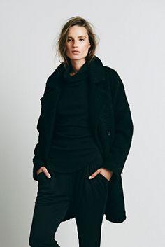 TFP extured Overcoat || gorgeous overcoat...be mine.