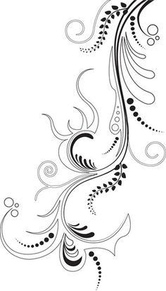 5. Vector Floral Ornament