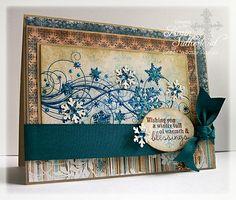 Snowflake Flourish Clear Stamp Set - Sweet 'n Sassy Stamps