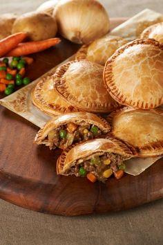 Recipe for Shepherds Pie Hand Pies -