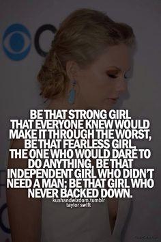 - Taylor Swift