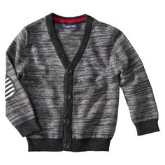 Cherokee® Infant Toddler Boys Long-Sleeve Cardigan Sweater