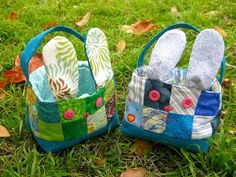 Love these Fabric Easter Baskets