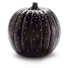 DIY Glo-in-the-Dark™ Dotted Pumpkin for eerie Halloween decor