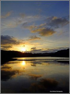 Loch Faskally Sunset, Pitlochry.