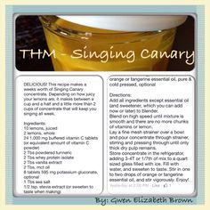 THM - singing canary  By - Gwen Elizabeth Brown