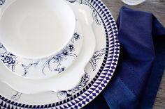 Blue and White Wedgewood China