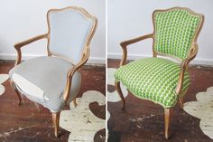 chairloom reupholstered chairs!