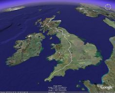 Someday I'd like to do the walk from Land's End to John O'Groats.