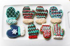 Mitten Sugar Cookies