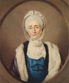 Mrs. Lushington (Mary Lushington) - 1774 by John Hamilton Mortimer (1740-1779, British) Yale Center for British Art. Fur-lined pelisse or mantelet.