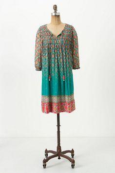 glimmered ankita dress #anthropolgie #ChenalShopping