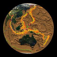 Cumulative Earthquakes 1980-1995
