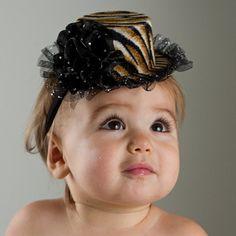 Mini Top Hat - Animal Print