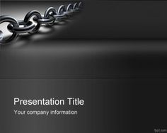 Linkbuilding PowerPoint Template is a free PPT template with a chain design that is ready to be used by presenters and SEO presentations