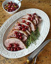Passover #Lamb with Pickled Cherries #Recipe