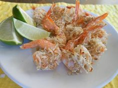 Baked-Not-Fried Coconut Shrimp