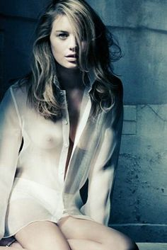 nude photographi, sheer blous