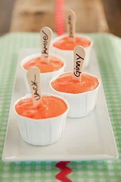 Yogurt Pops paula deen yogurt pops, pauladeen artsandcraft, dessert recip, yogurt ideas, frozen dessert, pop pauladeen, pop food, snack, yogurt popsicl